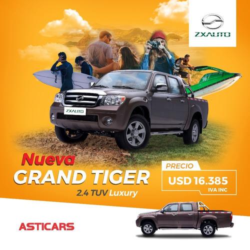 zxauto nueva grandtiger 2.4 extra full camionetas 0km
